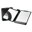 Blockmappe Spezial mit Einstecktaschen A4 Übergröße für Durchschreibesätze schwarz Durable 2332-01 Produktbild Additional View 1 S