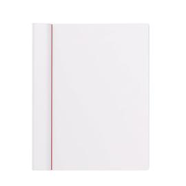 Klemmbrett Serie 231 Klemme lange Seite A4 quer weiß Kunststoff Maul 23102-02 Produktbild