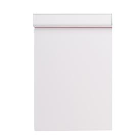 Klemmbrett Serie 231 Klemme kurze Seite A4 weiß Kunststoff Maul 23101-02 Produktbild