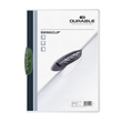Klemmmappe Swingclip A4 mit farbiger Klemme bis 30Blatt grün PP Durable 2260-05 Produktbild Additional View 1 S