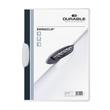 Klemmmappe Swingclip A4 mit farbiger Klemme bis 30Blatt weiß PP Durable 2260-02 Produktbild Additional View 1 S