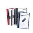 Klemmmappe Duraquick A4 mit flachem, dauerelastischem Clip bis 20Blatt schwarz PP Durable 2270-01 Produktbild Additional View 1 S