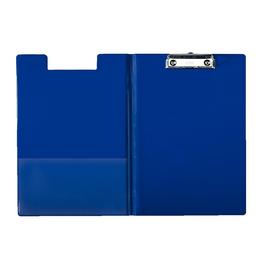 Klemmbrett mit Deckel und Tasche A4 bis 200Blatt blau Pappe mit PP-Folie Leitz 3960-00-35 Produktbild