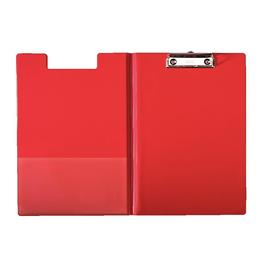 Klemmbrett mit Deckel und Tasche A4 für 200Blatt rot Pappe mit PP-Folie Leitz 3960-00-25 Produktbild