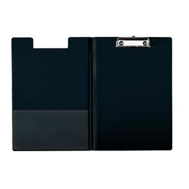 Klemmbrett mit Deckel und Tasche A4 bis 200Blatt schwarz Pappe mit PP-Folie Leitz 3960-00-95 Produktbild