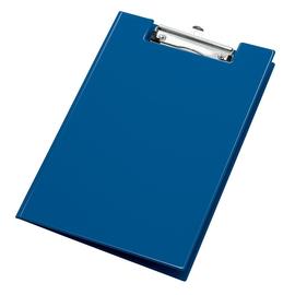 Klemmbrett mit Deckel und Stiftehalter A4 blau PVC Veloflex 4804050 Produktbild