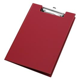 Klemmbrett mit Deckel und Stiftehalter A4 rot PVC Veloflex 4804020 Produktbild