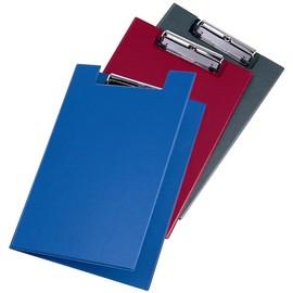 Klemmbrett mit Deckel und Stiftehalter A4 schwarz PVC Veloflex 4804080 Produktbild