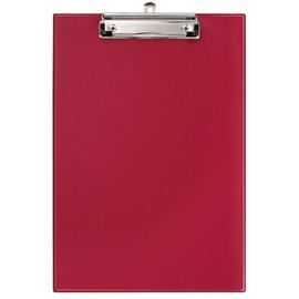 Klemmbrett leicht genarbt A4 rot PVC Veloflex 4814020 Produktbild