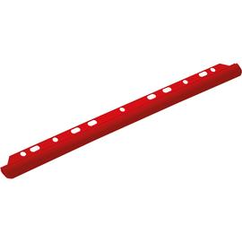 Klemmschiene G-Clip für Loseblatt-Ablage A4 bis 30Blatt rot Helit H2512225 Produktbild