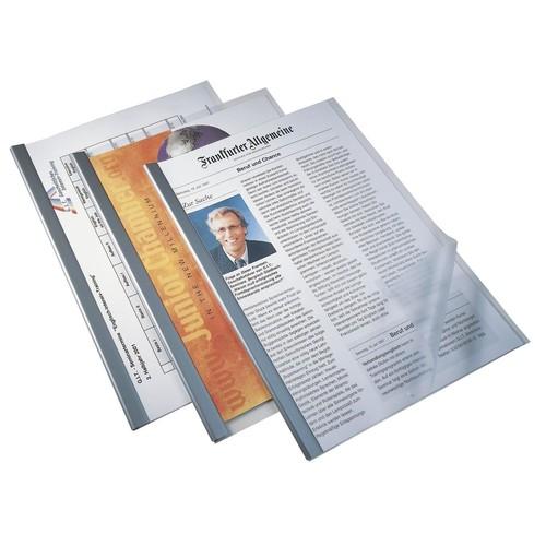 Klemmschiene 297mm bis 60Blatt schwarz Durable 2901-01 Produktbild Additional View 3 L