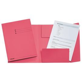 Jurismappe mit 3 Klappen A4 rot Karton Esselte 1033321 Produktbild