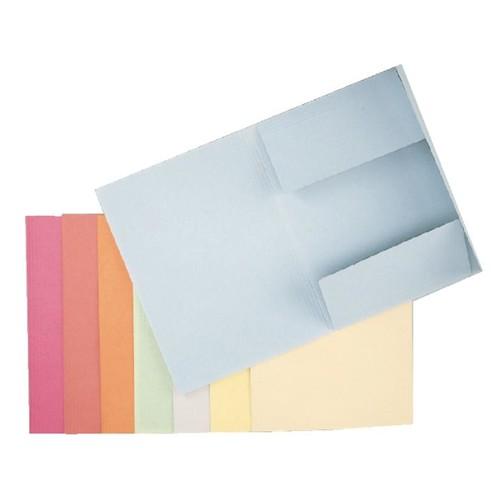 Jurismappe mit 3 Klappen A4 blau Karton Esselte 1033302 Produktbild Front View L