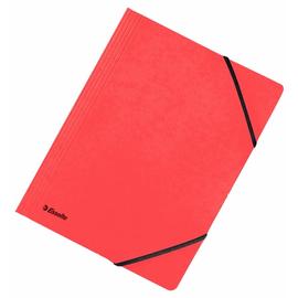 Eckspanner A4 für 250Blatt rot Karton Esselte 44204 Produktbild