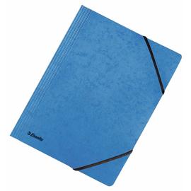 Eckspanner A4 für 250Blatt blau Karton Esselte 44201 Produktbild
