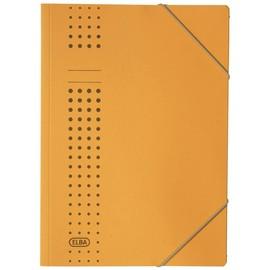 Eckspanner chic A4 für 150Blatt gelb Karton Elba 400010054 Produktbild