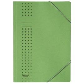 Eckspanner chic A4 für 150Blatt grün Karton Elba 400010058 Produktbild