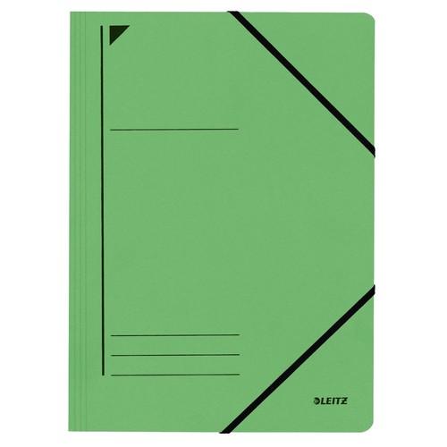 Eckspanner A4 für 250Blatt grün Karton Leitz 3980-00-55 Produktbild Front View L