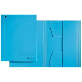 Jurismappe mit 3 Klappen A3 für 250Blatt blau Karton Leitz 3923-00-35 Produktbild