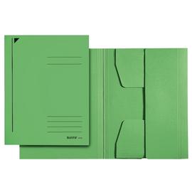 Jurismappe mit 3 Klappen A3 für 250Blatt grün Karton Leitz 3923-00-55 Produktbild