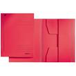 Jurismappe mit 3 Klappen A3 für 250Blatt rot Karton Leitz 3923-00-25 Produktbild