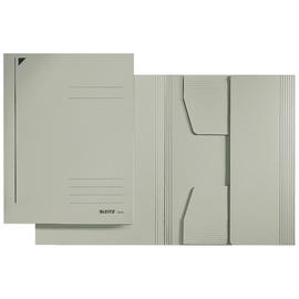 Jurismappe mit 3 Klappen A4 für 250Blatt grau Karton Leitz 3924-00-85 Produktbild