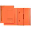 Jurismappe mit 3 Klappen A4 für 250Blatt orange Karton Leitz 3924-00-45 Produktbild