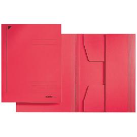 Jurismappe mit 3 Klappen A4 für 250Blatt rot Karton Leitz 3924-00-25 Produktbild
