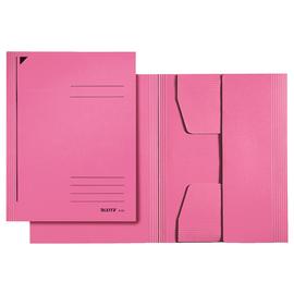 Jurismappe mit 3 Klappen A4 für 250Blatt pink Karton Leitz 3924-00-22 Produktbild