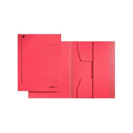 Jurismappe mit 3 Klappen A5 für 250Blatt rot Karton Leitz 3925-00-25 Produktbild