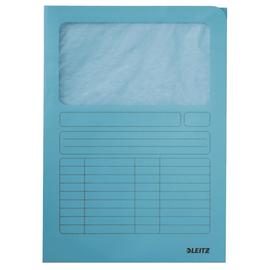 Sichtmappe mit Sichtfenster A4 hellblau Recycling Leitz 3950-00-30 Produktbild