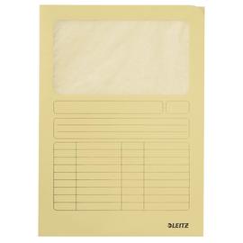 Sichtmappe mit Sichtfenster A4 gelb Recycling Leitz 3950-00-15 Produktbild