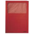Sichtmappe mit Sichtfenster A4 rot Recycling Leitz 3950-00-25 Produktbild