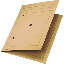 Umlaufmappe mit drei Sichtlöchern A4 bis 5mm chamois Karton Leitz 3998-00-11 Produktbild
