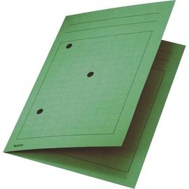 Umlaufmappe mit drei Sichtlöchern A4 bis 5mm grün Karton Leitz 3998-00-55 Produktbild