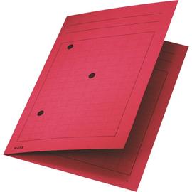 Umlaufmappe mit drei Sichtlöchern A4 bis 5mm rot Karton Leitz 3998-00-25 Produktbild