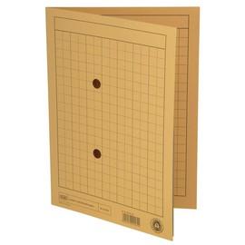 Umlaufmappe mit zwei Sichtlöchern A4 bis 100Blatt gelb Karton Elba 100091659 Produktbild