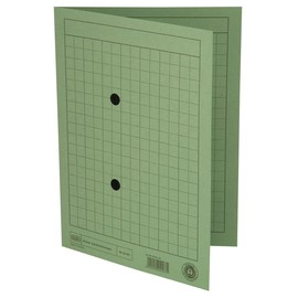 Umlaufmappe mit zwei Sichtlöchern A4 bis 100Blatt grün Karton Elba 1000916660 Produktbild