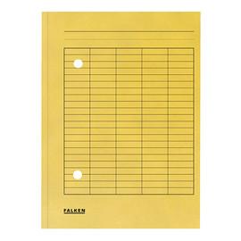 Umlaufmappe mit zwei Sichtlöchern A4 gelb Karton Falken 80004203 Produktbild