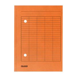 Umlaufmappe mit zwei Sichtlöchern A4 orange Karton Falken 80004211 Produktbild