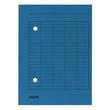 Umlaufmappe mit zwei Sichtlöchern A4 blau Karton Falken 80004179 Produktbild