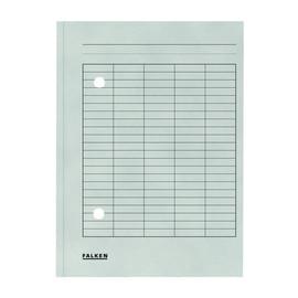 Umlaufmappe mit zwei Sichtlöchern A4 grau Karton Falken 80001571 Produktbild