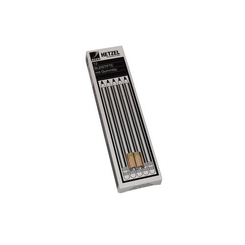 Bleistift mit Radiergummi Eco Natur HB Hetzel 1611HB Produktbild Additional View 1 L