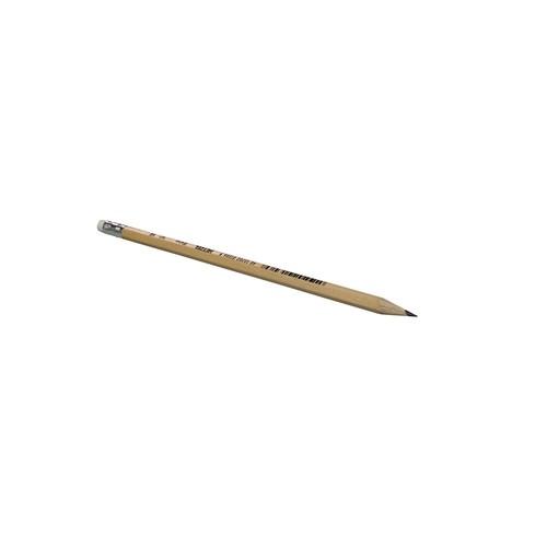 Bleistift mit Radiergummi Eco Natur HB Hetzel 1611HB Produktbild