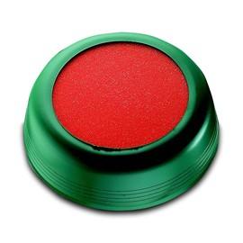Anfeuchter ø 10,5cm grün mit rotem Gummischwamm Läufer 70915 Produktbild