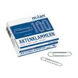 Aktenklammern 50mm verzinkt gewellt runde Form ALCO 261 (SCH=100 STÜCK) Produktbild