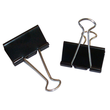 Foldbackklammern 40mm schwarz mit silbernem Bügel (PACK=12 STÜCK) Produktbild Additional View 2 S