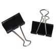 Foldbackklammern 50mm schwarz mit silbernem Bügel (PACK=12 STÜCK) Produktbild Additional View 2 S