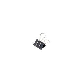 Foldbackklammern 25mm schwarz mit silbernem Bügel Maul 21425-90 (PACK=12 STÜCK) Produktbild