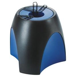 Klammernspender DELTA 95x88x95mm schwarz/blau magnetisch HAN 1752-34 Produktbild